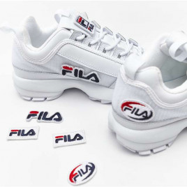 Boty Fila Disruptor II Patches WMN 100 White