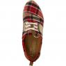 Boty TOMS Plaid Womens Del Rey Sneaker Red/Beige/Black