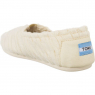 Boty TOMS Cable Knit Shearling Womens Alpargata White