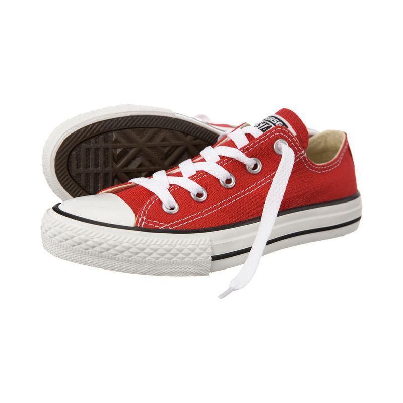 Dětské boty Converse 3J236 Chuck Taylor All Star Red (červené ... e8696f95cd7