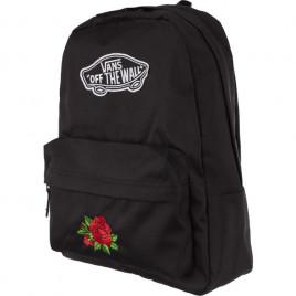 Batoh Vans Realm Backpack Black Classic Rose