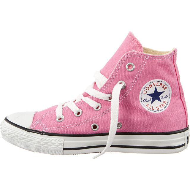 Dětské boty Converse 3J234 Chuck Taylor All Star High Pink (růžové) - 33 c9c6959db2