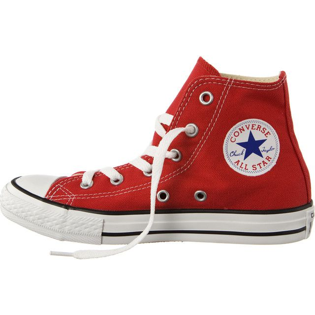 Dětské boty Converse 3J232 Chuck Taylor All Star High Red (červené) - 33 ef0fd38377